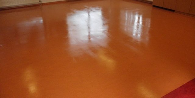 Linoleum coating aangebracht door JNC